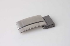 Reversible Plate Buckle For Belt